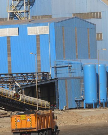 Sangan pelletizing Plant (5 MT/Y)