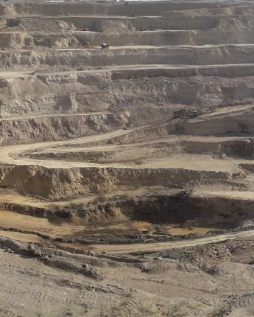 Gol-e-Gohar Iron Ore Mines No. 1 to 6 in Sirjan City